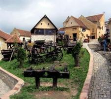 Живите камъни - солна мина Румнико Вълча - Ръшнов - Синая - Букурещ