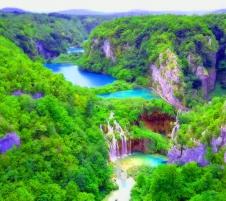 Плитвички езера - Постойна яма - Блед - Загреб